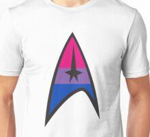 Bisexual Star Trek Emblem Unisex T-Shirt