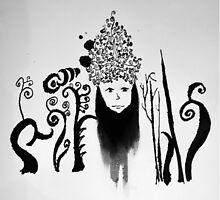 Ink Lady by wamaton