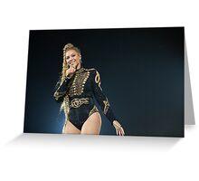 Beyoncé - 1 + 1 (Düsseldorf, FormationWorldTour) Greeting Card