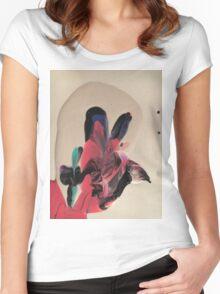 Clown Paint  Women's Fitted Scoop T-Shirt