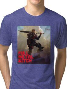 Edge of Tomorrow - Full Metal B Tri-blend T-Shirt