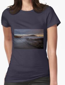 Through the Clouds _ Crowdy Bay Womens Fitted T-Shirt