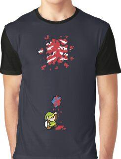 Link got a heart (super nes edition) Graphic T-Shirt