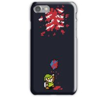 Link got a heart (super nes edition) iPhone Case/Skin
