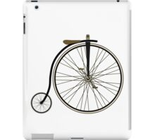 Penny Farthing iPad Case/Skin