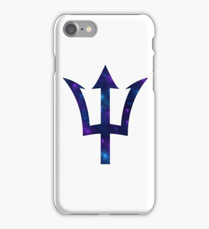 Trident & Galaxy - Percy Jackson iPhone Case/Skin