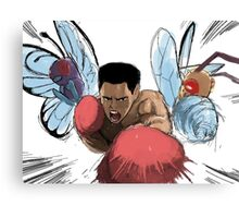 Dance like a Butterfree sting like a Beedrill Canvas Print