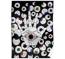 Eye in Hand Poster