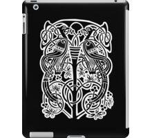 Celtic owl width birds on vine tree iPad Case/Skin