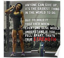Anyone Can Give Up Poster