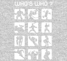Who's who ? (normal difficulty) One Piece - Short Sleeve