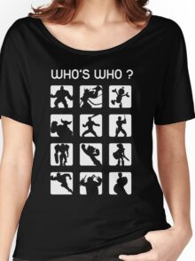 Who's who ? (normal difficulty) Women's Relaxed Fit T-Shirt