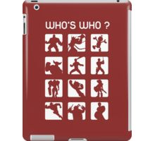 Who's who ? (normal difficulty) iPad Case/Skin