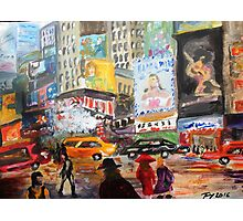New York Times Square - Acrylic Artwork Photographic Print