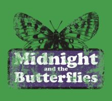 Midnight and the Butterflies One Piece - Short Sleeve