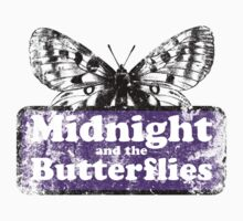 Midnight and the Butterflies Kids Tee