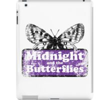 Midnight and the Butterflies iPad Case/Skin