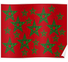 Moroccan Star Poster