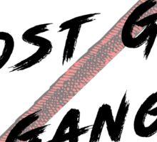 Ghost Girl Gang Sticker