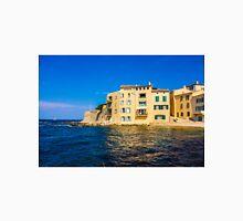 The sea shore in Saint Tropez, French Riviera Unisex T-Shirt