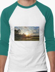 Butler County Sunset Men's Baseball ¾ T-Shirt