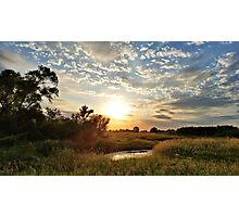 Butler County Sunset Photographic Print