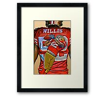 Willis! Framed Print