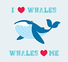 I love whales,whales loves me by mangulica