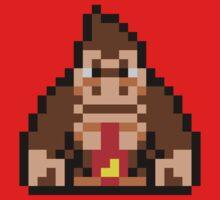 Pixel Donkey Kong One Piece - Short Sleeve