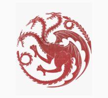 Game of Thrones House Targaryen  by mnzero