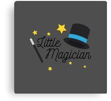 little magician Canvas Print