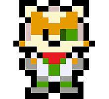 Pixel Fox McCloud Photographic Print