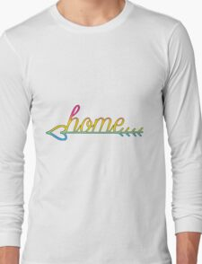 Home- Pansexual Flag Long Sleeve T-Shirt