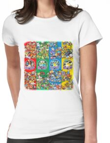 New and Old PKMN Womens Fitted T-Shirt