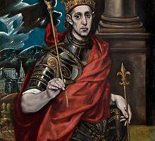 Saint Louis IX, King of France by PattyG4Life