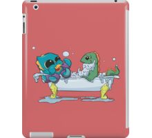 Kraken & Loch Ness in the Bathtub w/ BG iPad Case/Skin