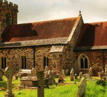 Hampreston Church Sticker