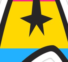 Pansexual Star Trek Emblem Sticker