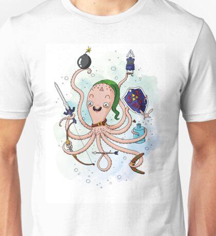 Linktopus the Link Octopus Unisex T-Shirt