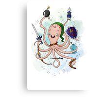 Linktopus the Link Octopus Canvas Print