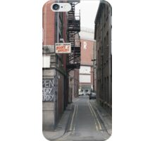 Manchester street study 3 iPhone Case/Skin