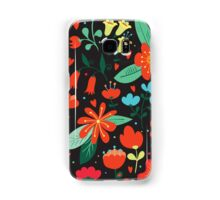 Flowers and hearts Samsung Galaxy Case/Skin