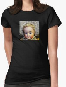 Doll Face 3 Womens Fitted T-Shirt