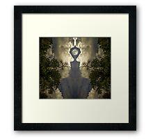 The Creator's Mirror Framed Print