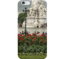 Bottom Portion of the Queen Victoria Memorial iPhone Case/Skin