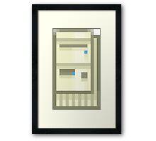 Pixel IBM Aptiva Framed Print