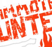 Intraining Tough Mudders 2014 Sticker