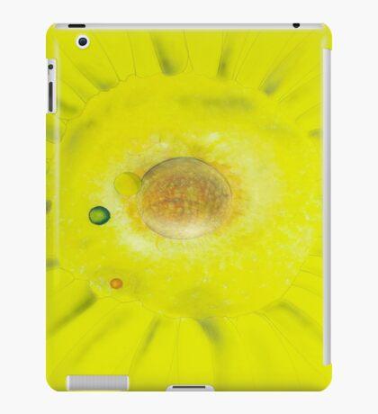 Yellow Sunflowers Solar System iPad Case/Skin