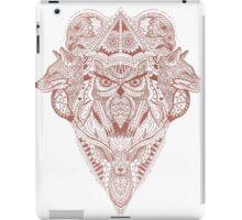 Red Animal Ink  iPad Case/Skin