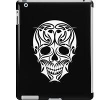Abstract Scull Illustration iPad Case/Skin